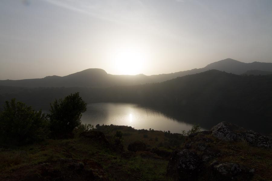 Twin Crater Lakes - Bangam, Southwest, Cameroon