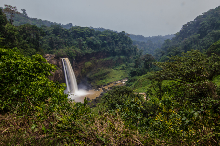 Ekom Waterfall - Littoral, Cameroon